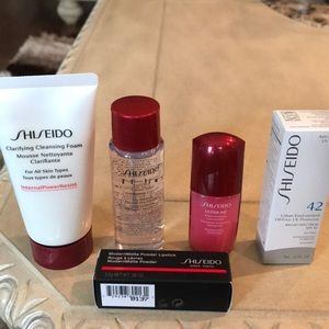 Shiseido must have samples for your winter getaway
